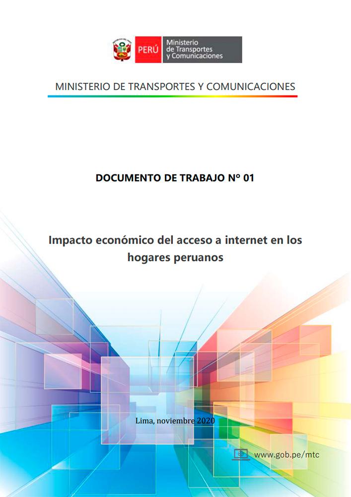 Estudio del MTC: Acceso a Internet impacta positivamente en economía de las familias