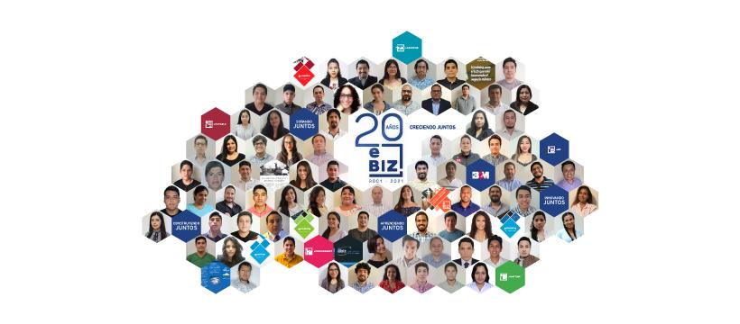 eBIZ cumple 20 años transformando empresas peruanas