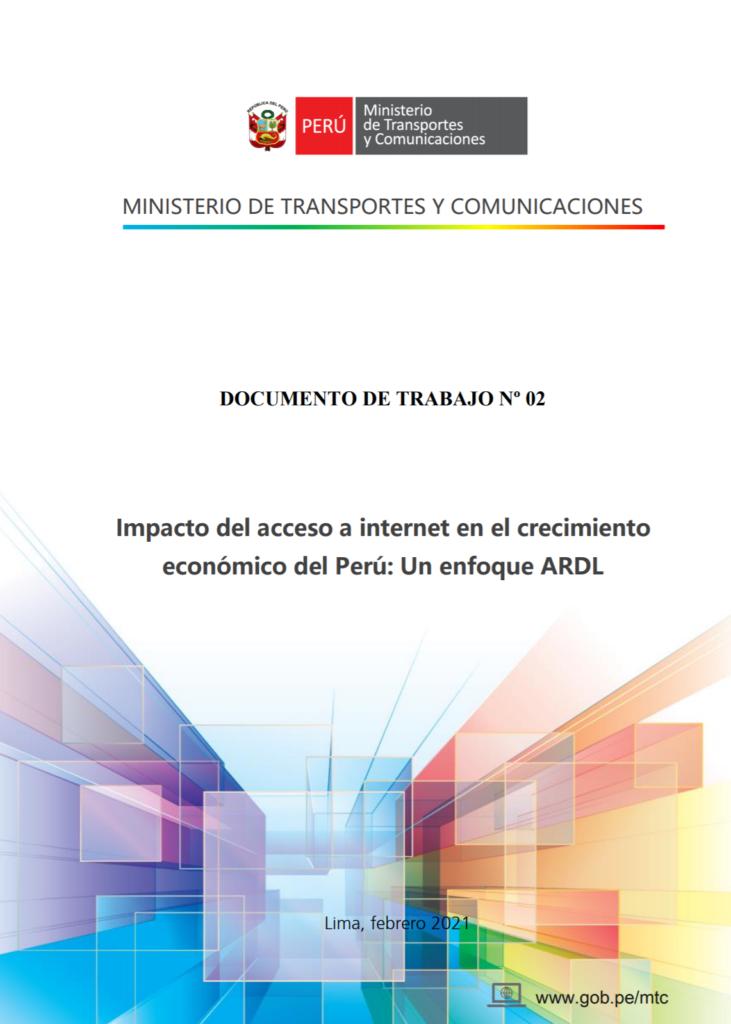 MTC: PBI se elevará en dos puntos porcentuales si penetración de Internet llega al 48,8%
